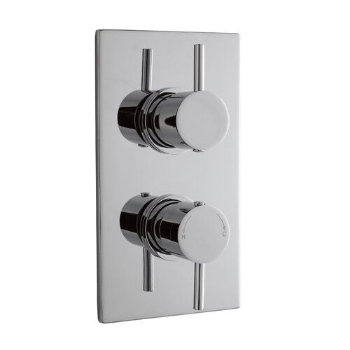 Belfry Bathroom Emberton Double Concealed Thermostatic Shower