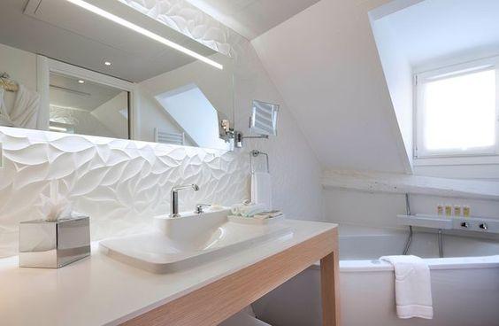 Une salle de bain zen et déco de 6m²  exemple à suivre Pinterest