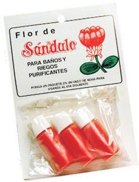 SANDALWOOD FLOWER BATH SALTS 3 PACK