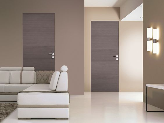 Porte a filo muro: design essenziale o finitura décor - Cose di Casa