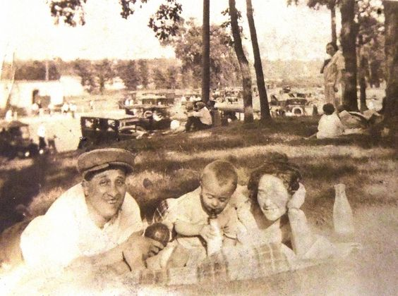 Al with his new son Irv & sister-in-law Lee Goldberg taken by Brana Pinsky 1924 | by reel3d1