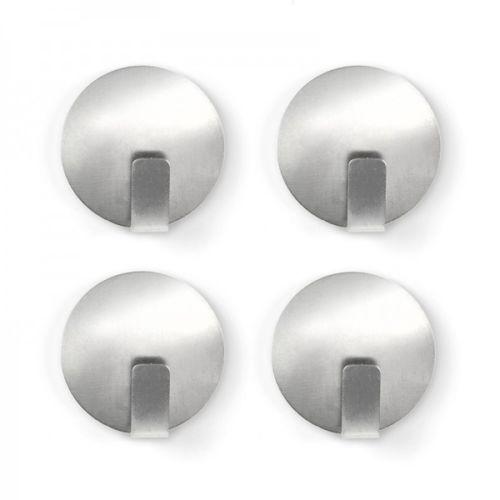 Magnethaken-SOLID-4er-Set-Edelstahl-Haken-Kuehlschrank-Haftmagnete-Magnetset-Neu