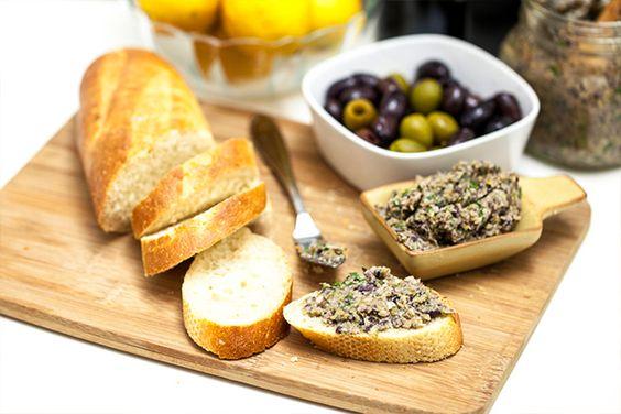 Pasta de azeitona e alcachofra 2