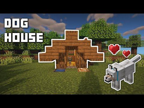 Dog House Minecraft