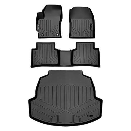 Smartliner Custom Fit Floor Mats 2 Rows And Cargo Liner Trunk Set Black For 2020 Toyota Corolla Sedan In 2020 Toyota Corolla Cargo Liner Custom Fit