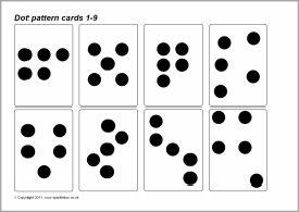 dot pattern subitizing cards 1 9 sb4825 sparklebox january ideas pinterest dots dot. Black Bedroom Furniture Sets. Home Design Ideas