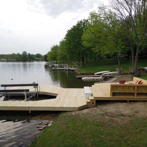 boat lake dock cabin dock lake cabin lake house diy dock diy boat dock