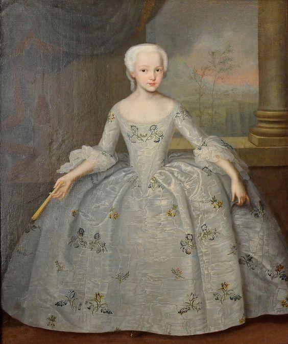 Portrait of Sarah Eleonora Fairmore, Ivan Vishnyakov, 1749 (50?)