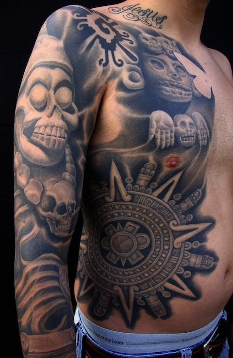Aztec Tattoos Gallery Art | Tattoo Ideas 2015