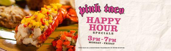 pink taco happy hour