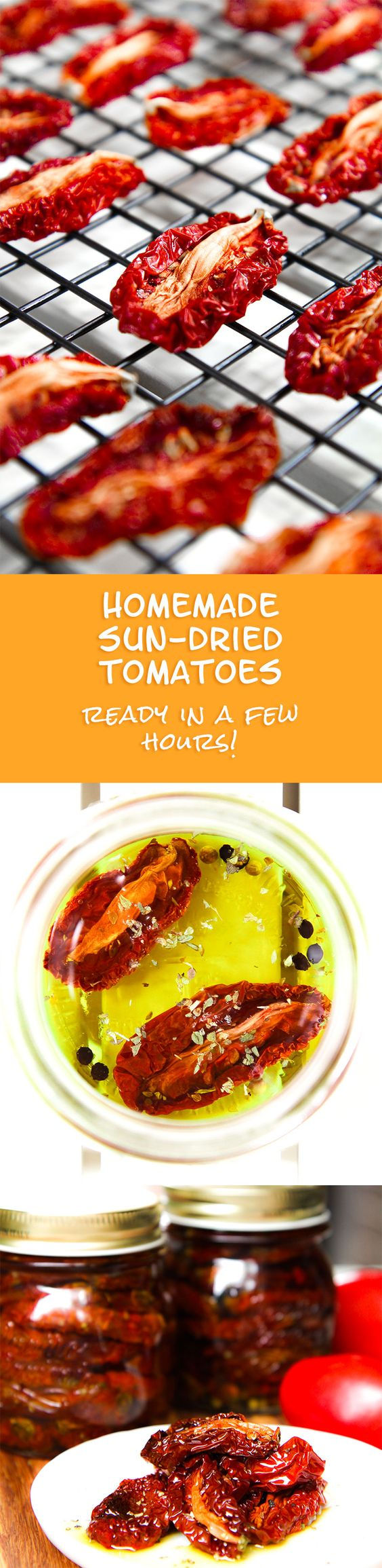homemade sun-dried tomatoes recipe To prepare dried tomatoes in the ...
