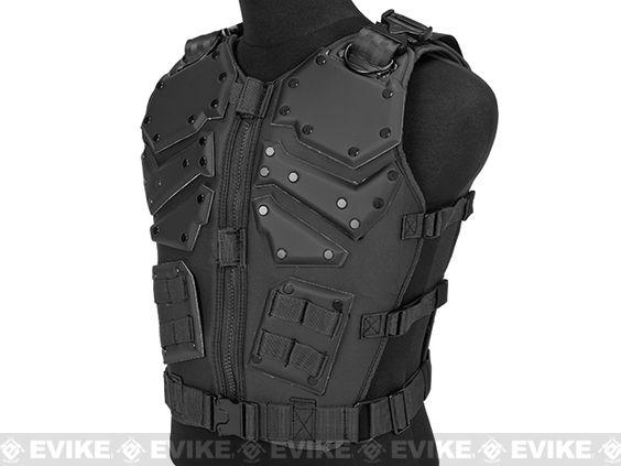 Pre-Order Estimated Arrival: 10/2014 --- Matrix Cobra Warrior High Speed Body Armor - Black, Pre-order / Preview - Evike.com Airsoft Superstore