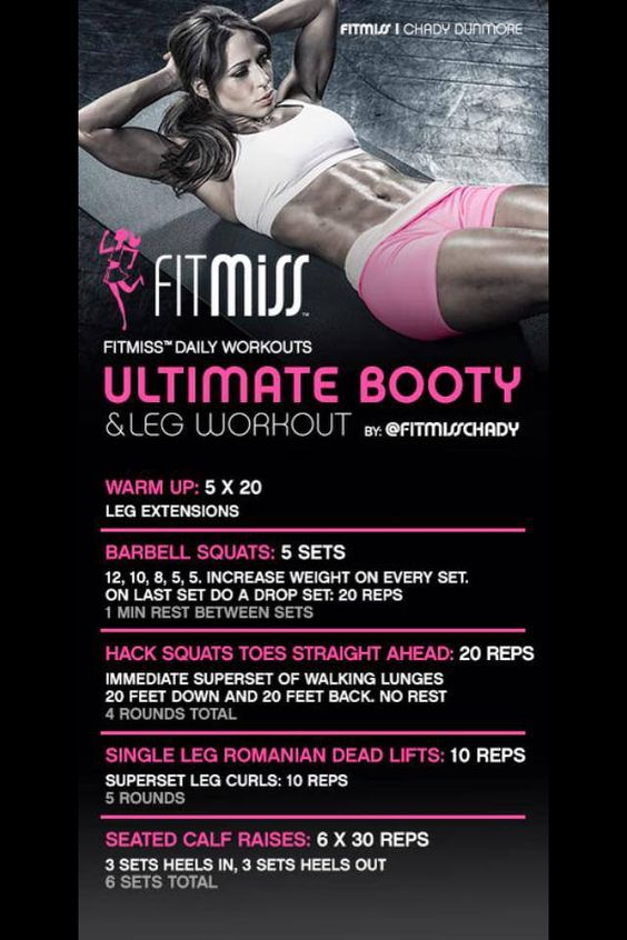From FitMiss Chady.  She has amazing workouts!!  @fitmisschady:
