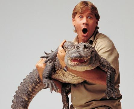 "Crocodile Hunter, ""Crikey"" Steve - 23.1KB"