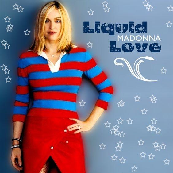 Madonna – Liquid Love (single cover art)