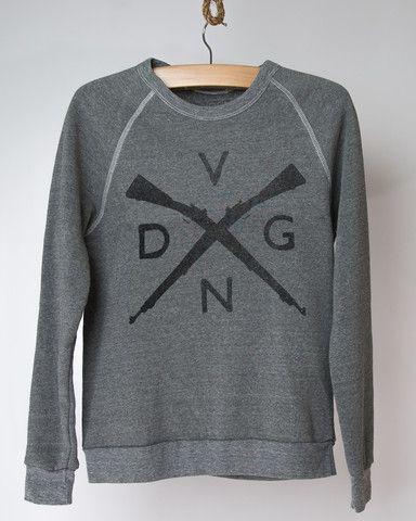 VDGN / Vardagen Vintage Sweatshirt- Crossguns