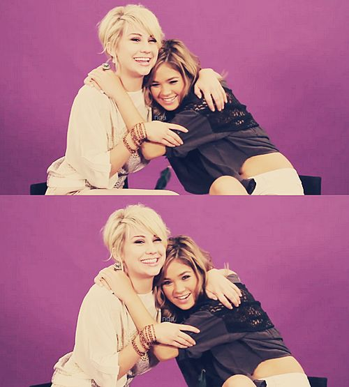 Nicole Anderson and Chelsea Kane
