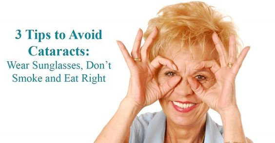 tips for cataracts