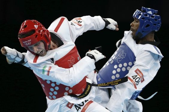 Diogo Silva perde semifinal e lutará pelo bronze no taekwondo