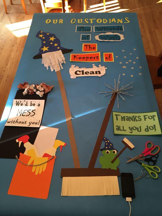 Custodians appreciation day | Work Ideas | Pinterest ...
