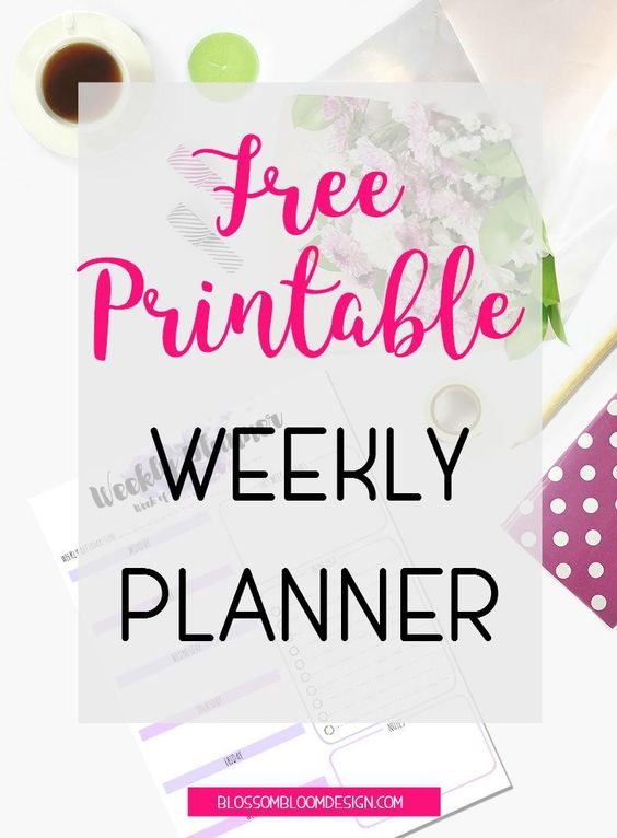 Want to get organised? Download this free printable weekly planner right now. Perfect for any girlboss, ladyboss or momboss that needs some organisation and inspiration in their lives. Click to download!