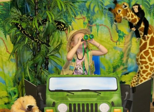 Customer Image Gallery For Jungle Safari Photo Prop Party Accessory 1 Count Pkg