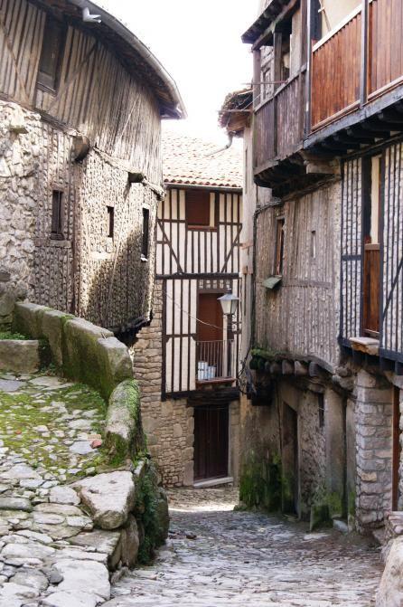 Calle típica La Alberca  Salamanca Spain