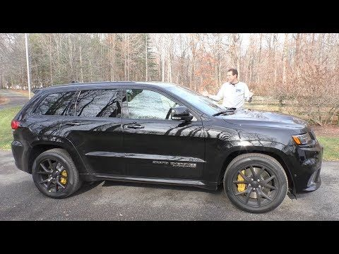 The 100 000 Jeep Trackhawk Is The Most Powerful Suv Ever Youtube Jeep Grand Suv Jeep