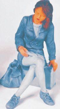 figura de escayola