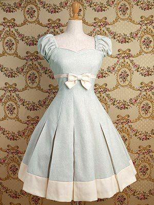 Robe façon ancien (Alice aux pays des merveilles ?)