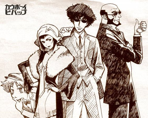 See you next time, Space Cowboy. Cowboy Bebop - a source of inspiration for me that always seems to move me.  End credits especially.