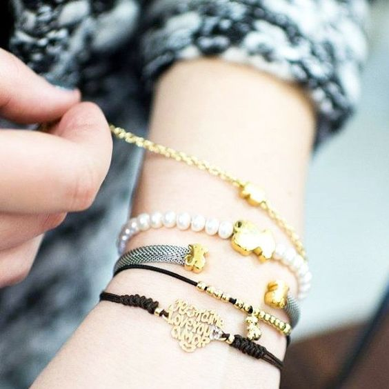 Empezamos la semana con nuestros clásicos!✨ | We start the week with our classics!✨ #tousjewelry #tousclassics #pulseras #bracelets