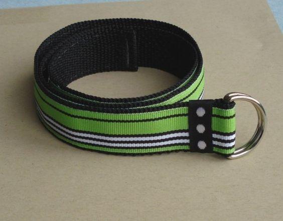 Baby/Toddler Belt- Green Machine