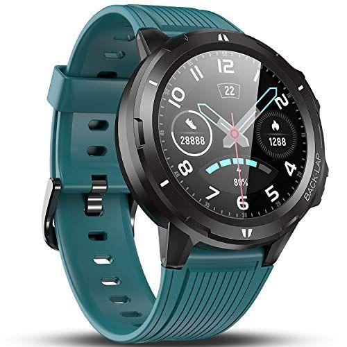 Vigorun Smartwatch Reloj Inteligente Hombre Mujer Pantalla Táctil Completa Relojes Deportivos Monitor Ritmo Car Relojes Deportivos Reloj Deportivo Smartwatch