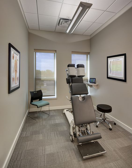 Pewter taupe and colors on pinterest for Chiropractic office layout