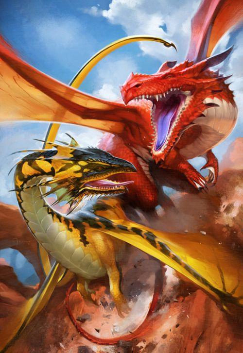Dragon by Kieran Yanner