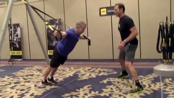 I've really come to believe in the TRX workouts... TRX Workout with Inventor Randy Hetrick