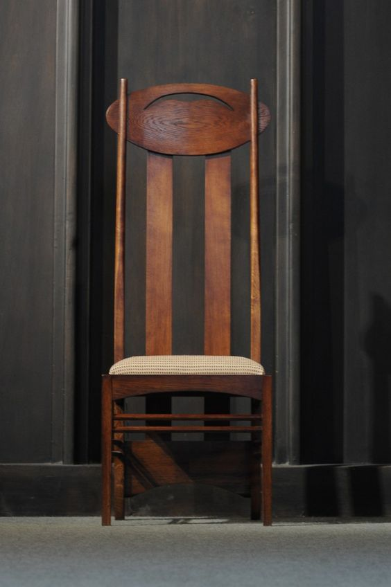 Charles Rennie Mackintosh Chairs And Furniture On Pinterest