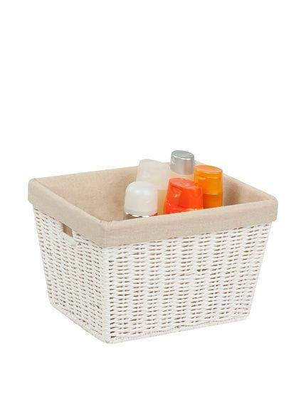 "Honey-Can-Do 10"" Parchment Cord Basket with Liner, White, http://www.myhabit.com/redirect/ref=qd_sw_dp_pi_li?url=http%3A%2F%2Fwww.myhabit.com%2Fdp%2FB00JF0IB70%3F"
