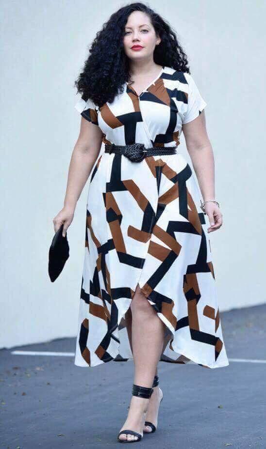 Unique White Printed Short Dress