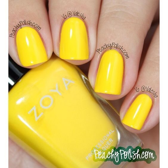 Zoya Nail Polish in Darcy shared via Instagram by valesha