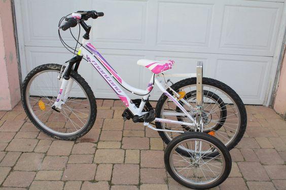 L'EZ Trainer se monte également sur des vélos de juniors et adolescents dès 24 pouces