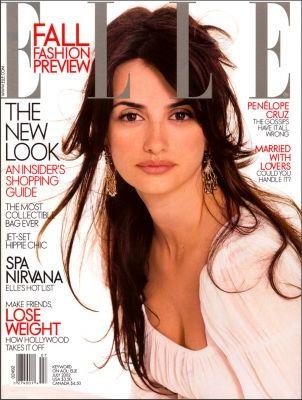 Elle US July 2002 - Penelope Cruz