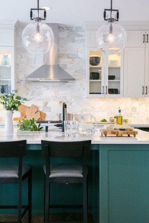 The Best In Dark Green Kitchen Trends Dark Green Kitchen Green Kitchen Island Kitchen Trends