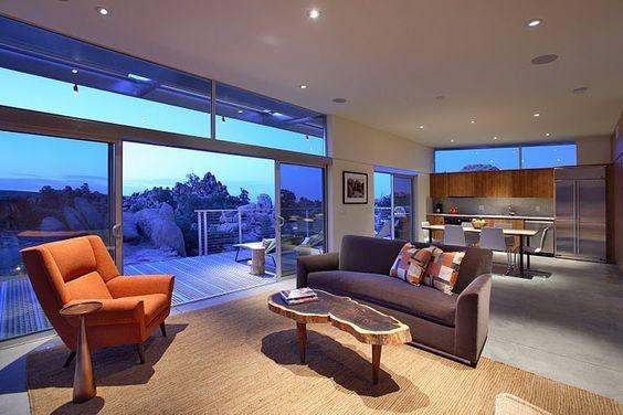 Joshua Tree Modern Home Rental. #desert #dreamhouse #home #view