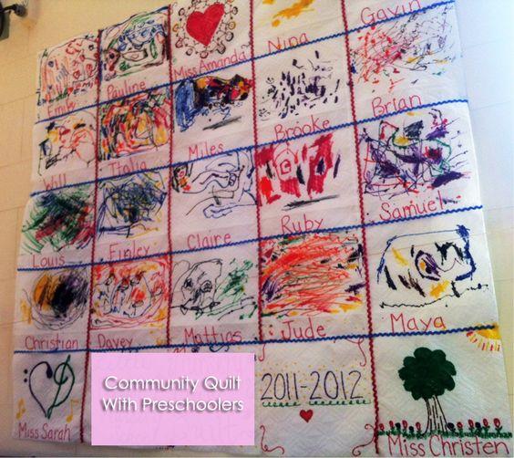 Classroom Paper Quilt Ideas ~ Pinterest the world s catalog of ideas