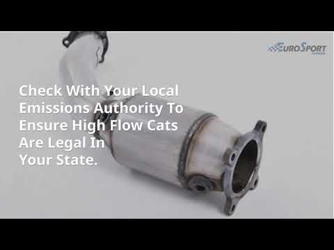 What Are The Pros And Cons Of High Flow Catalytic Converters And Does Your Vehicle Need One Find Out More About This Custom Upgrade He In 2021 Converter Flow Upgrade