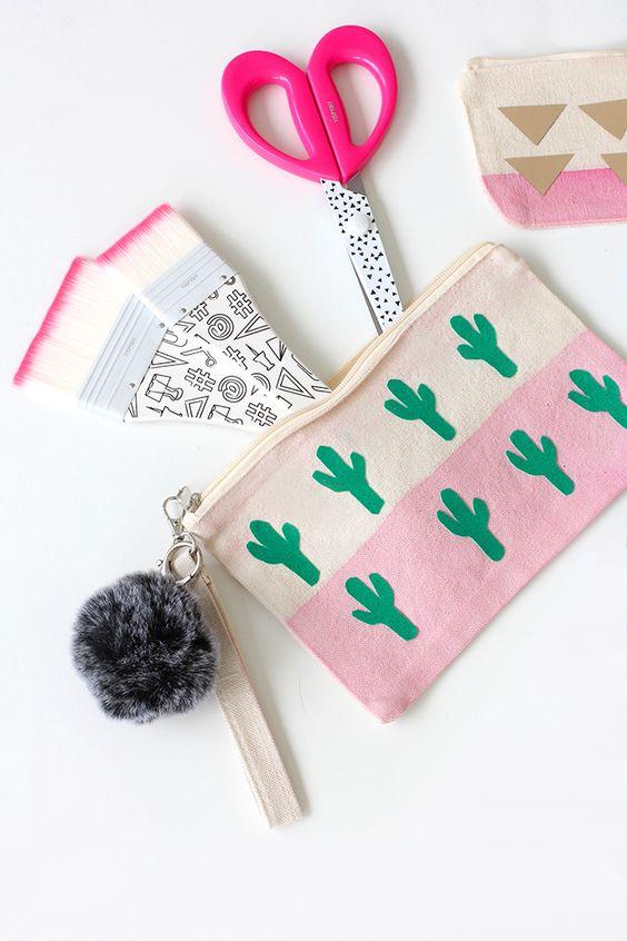 » MY DIY | Back-to-School Cotton Canvas Cactus Bag