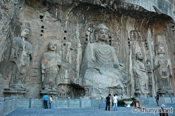 Grutas de Longmen, Luoyang, China