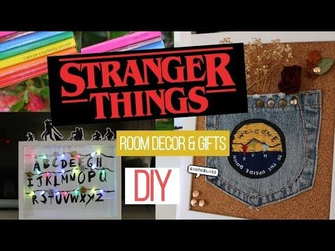 Diy Stranger Things Fandom Room Decor Gifts Must Try Exoticblxss Youtube Decor Gifts Tumblr Room Decor Stranger Things Halloween